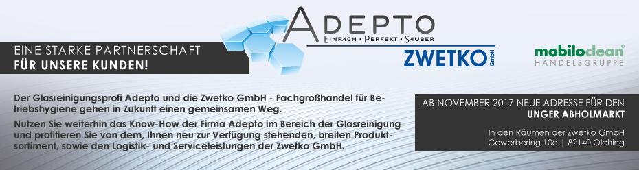 Partnerschaft ZWETKO & ADEPTO